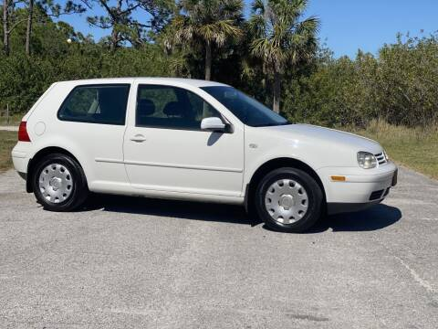2004 Volkswagen Golf for sale at D & D Used Cars in New Port Richey FL