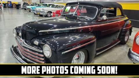 1947 Ford Deluxe for sale at UNIQUE SPECIALTY & CLASSICS in Mankato MN