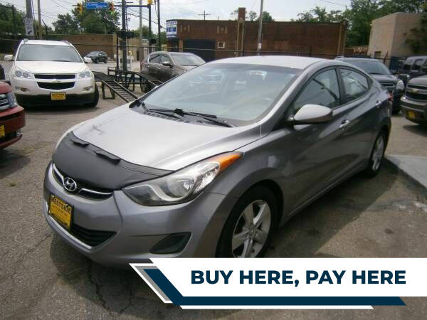 2013 Hyundai Elantra for sale at WESTSIDE AUTOMART INC in Cleveland OH