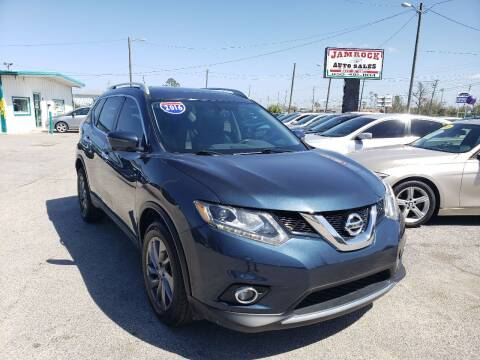 2016 Nissan Rogue for sale at Jamrock Auto Sales of Panama City in Panama City FL