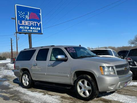 2007 Chevrolet Suburban for sale at Liberty Auto Sales in Merrill IA