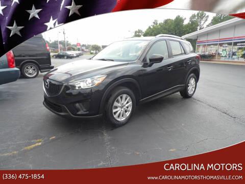 2013 Mazda CX-5 for sale at CAROLINA MOTORS in Thomasville NC