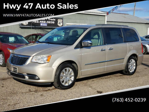 2012 Chrysler Town and Country for sale at Hwy 47 Auto Sales in Saint Francis MN