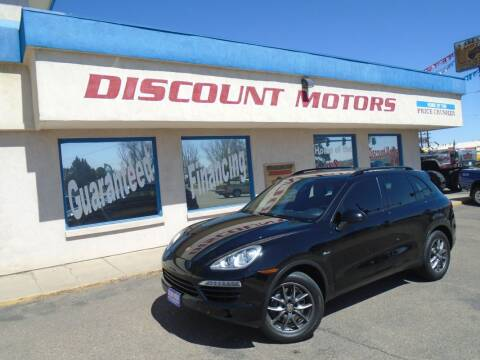 2013 Porsche Cayenne for sale at Discount Motors in Pueblo CO