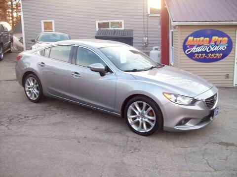 2014 Mazda MAZDA6 for sale at Auto Pro Auto Sales-797 Sabattus St. in Lewiston ME