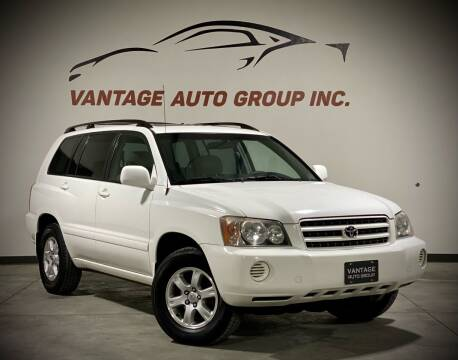 2002 Toyota Highlander for sale at Vantage Auto Group Inc in Fresno CA