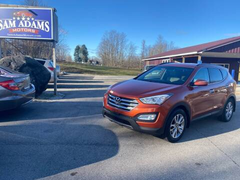 2014 Hyundai Santa Fe Sport for sale at Sam Adams Motors in Cedar Springs MI