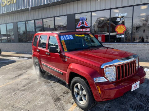 2008 Jeep Liberty for sale at Big A  Auto Sales & Service in Dubuque IA