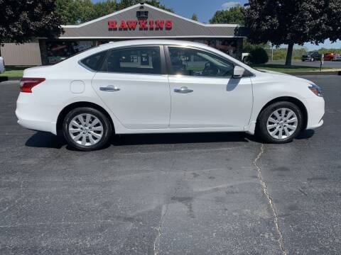 2017 Nissan Sentra for sale at Hawkins Motors Sales in Hillsdale MI