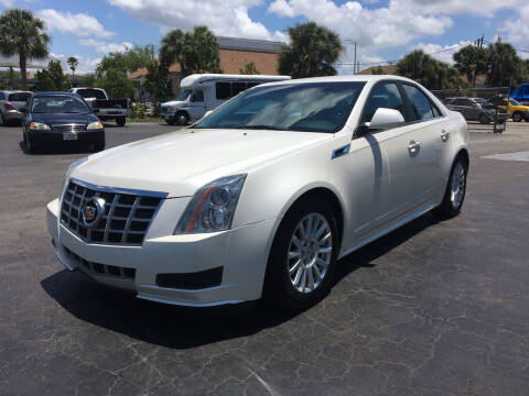 2012 Cadillac CTS for sale at CAR-RIGHT AUTO SALES INC in Naples FL