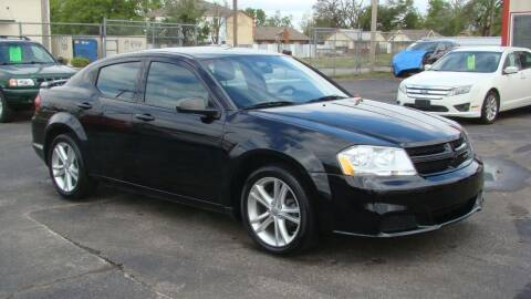 2014 Dodge Avenger for sale at Red Rock Auto LLC in Oklahoma City OK