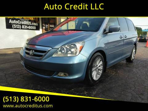 2007 Honda Odyssey for sale at Auto Credit LLC in Milford OH