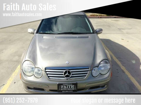 2003 Mercedes-Benz C-Class for sale at Faith Auto Sales in Temecula CA