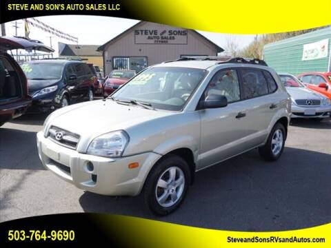 2006 Hyundai Tucson for sale at Steve & Sons Auto Sales in Happy Valley OR