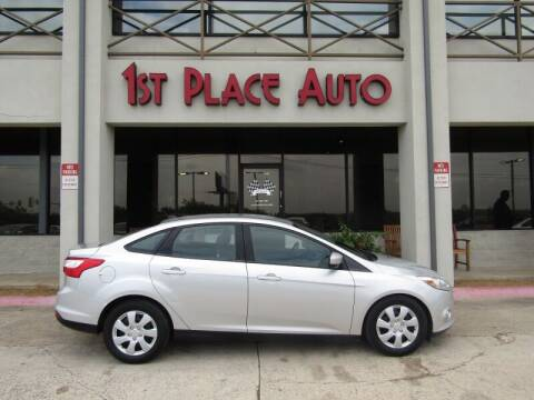 2012 Ford Focus for sale at First Place Auto Ctr Inc in Watauga TX
