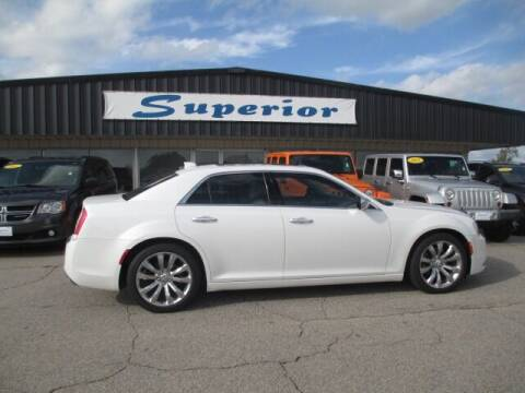 2016 Chrysler 300 for sale at SUPERIOR CHRYSLER DODGE JEEP RAM FIAT in Henderson NC
