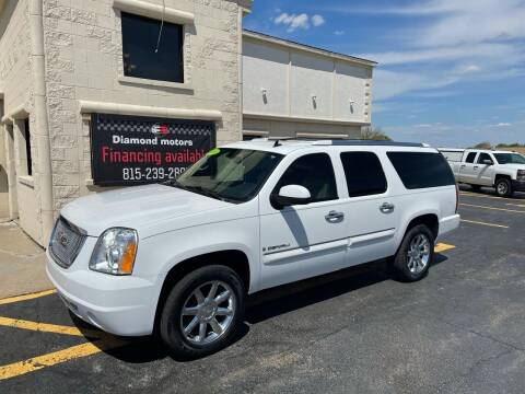 2008 GMC Yukon XL for sale at Diamond Motors in Pecatonica IL
