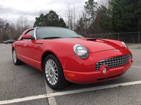 2004 Ford Thunderbird for sale at Creekside Automotive in Lexington NC