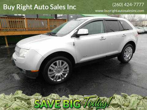 2010 Lincoln MKX for sale at Buy Right Auto Sales Inc in Fort Wayne IN