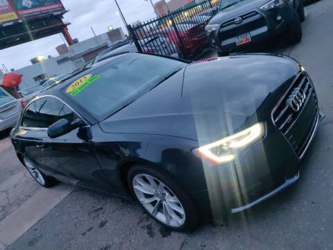 2013 Audi A5 for sale at Sanaa Auto Sales LLC in Denver CO