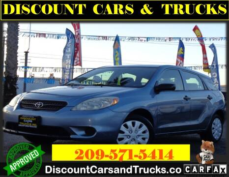 2006 Toyota Matrix for sale at Discount Cars & Trucks in Modesto CA