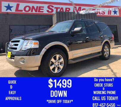2013 Ford Expedition for sale at LONE STAR MOTORS II in Fort Worth TX