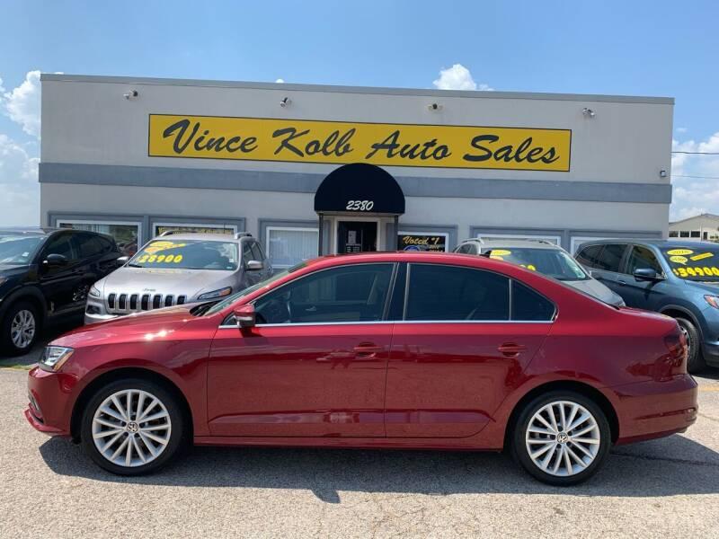 2016 Volkswagen Jetta for sale at Vince Kolb Auto Sales in Lake Ozark MO