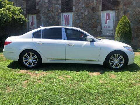 2010 Hyundai Genesis for sale at JWP Auto Sales,LLC in Maple Shade NJ