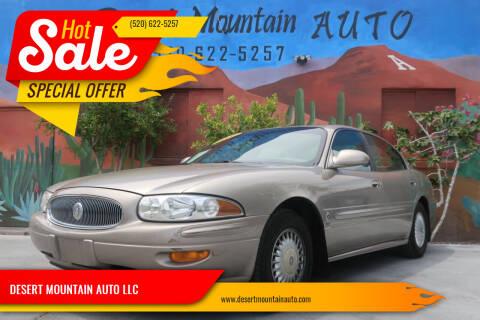 2000 Buick LeSabre for sale at DESERT MOUNTAIN AUTO LLC in Tucson AZ