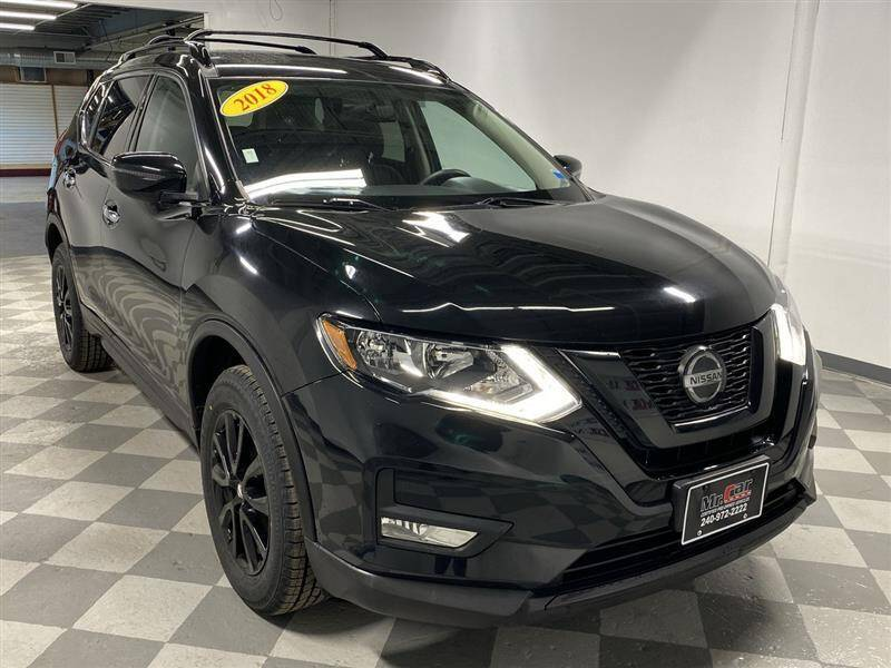2018 Nissan Rogue for sale at Mr. Car City in Brentwood MD
