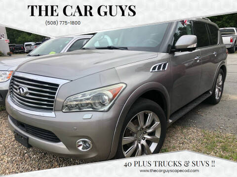 2012 Infiniti QX56 for sale at The Car Guys in Hyannis MA