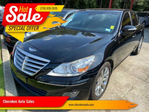 2011 Hyundai Genesis for sale at Cherokee Auto Sales in Acworth GA