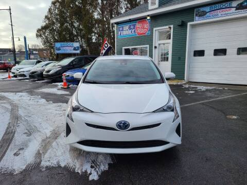 2018 Toyota Prius for sale at Bridge Auto Group Corp in Salem MA