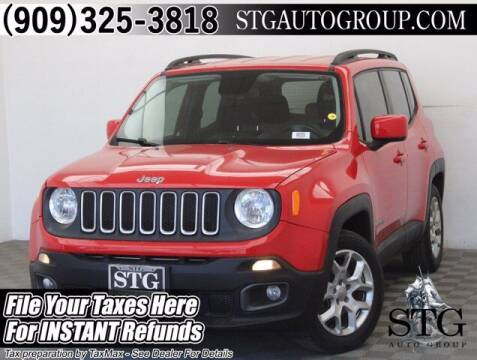 2015 Jeep Renegade for sale at STG Auto Group in Montclair CA