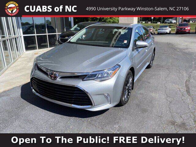2018 Toyota Avalon for sale at Credit Union Auto Buying Service in Winston Salem NC