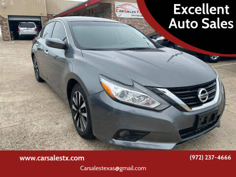 2018 Nissan Altima for sale at Excellent Auto Sales in Grand Prairie TX
