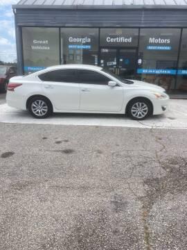 2013 Nissan Altima for sale at Georgia Certified Motors in Stockbridge GA