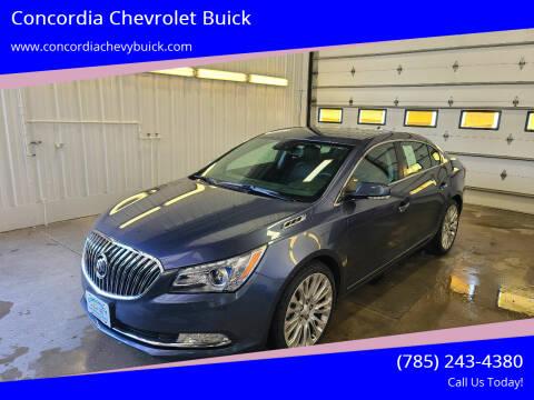2014 Buick LaCrosse for sale at Concordia Chevrolet Buick in Concordia KS