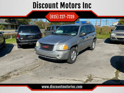 2004 GMC Envoy for sale at Discount Motors Inc in Nashville TN