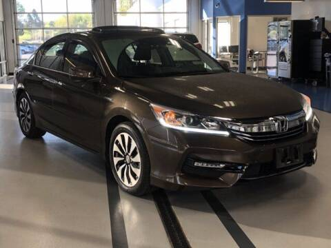 2017 Honda Accord Hybrid for sale at Simply Better Auto in Troy NY