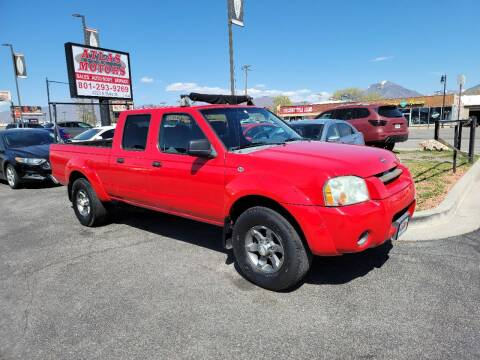 2004 Nissan Frontier for sale at ATLAS MOTORS INC in Salt Lake City UT