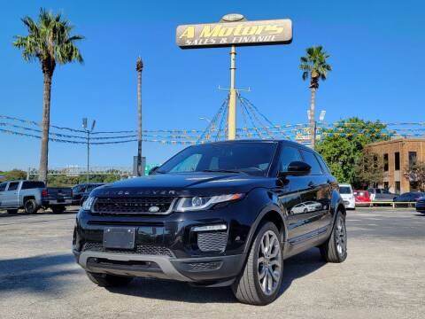 2016 Land Rover Range Rover Evoque for sale at A MOTORS SALES AND FINANCE in San Antonio TX