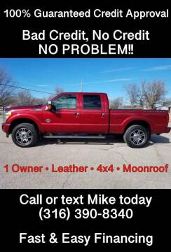 2016 Ford F-250 Super Duty for sale at Affordable Mobility Solutions, LLC - Standard Vehicles in Wichita KS