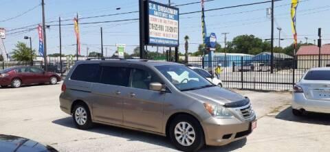 2009 Honda Odyssey for sale at S.A. BROADWAY MOTORS INC in San Antonio TX