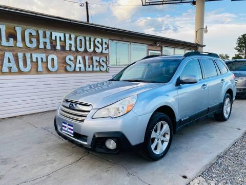 2013 Subaru Outback for sale at Lighthouse Auto Sales LLC in Grand Junction CO