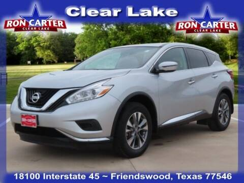 2017 Nissan Murano for sale at Ron Carter  Clear Lake Used Cars in Houston TX