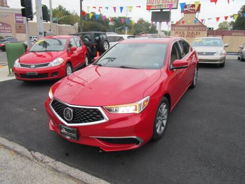 2018 Acura TLX for sale at Daniel Auto Sales in Yonkers NY