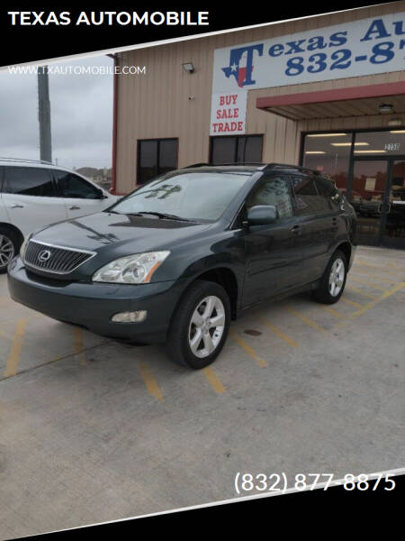 2004 Lexus RX 330 for sale at TEXAS AUTOMOBILE in Houston TX
