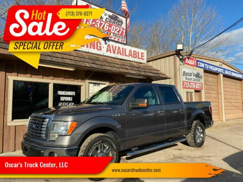 2012 Ford F-150 for sale at Oscar's Truck Center, LLC in Houston TX
