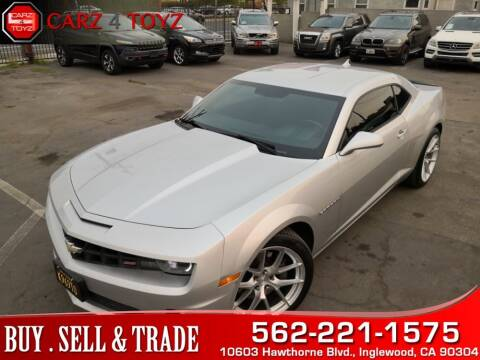 2013 Chevrolet Camaro for sale at Carz 4 Toyz in Inglewood CA